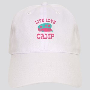 20848a6ae4f78 Live Love Camping Duvet1407893974 Hats - CafePress