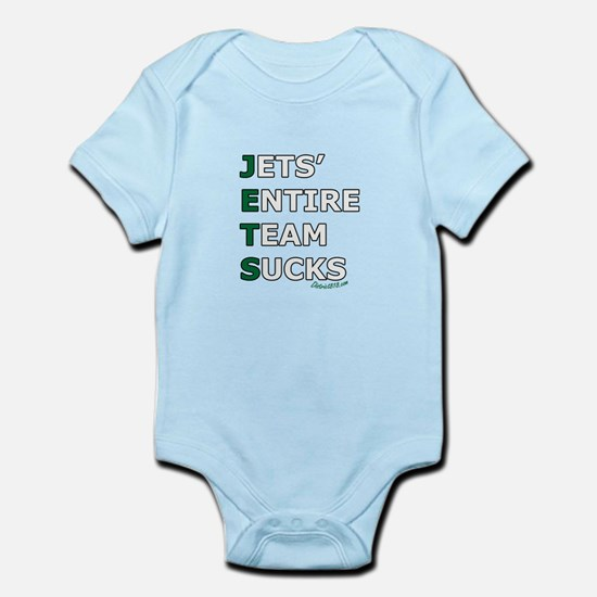 JETS SUCK Infant Bodysuit