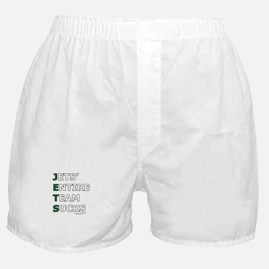 JETS SUCK Boxer Shorts