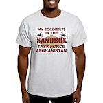 Task Force Afghanistan Sandbox Ash Grey T-Shirt