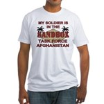 Task Force Afghanistan Sandbox Fitted T-Shirt