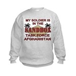 Task Force Afghanistan Sandbox Kids Sweatshirt