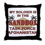 Task Force Afghanistan Sandbox Throw Pillow