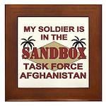 Task Force Afghanistan Sandbox Framed Tile