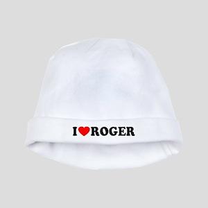 I (Heart) Roger baby hat