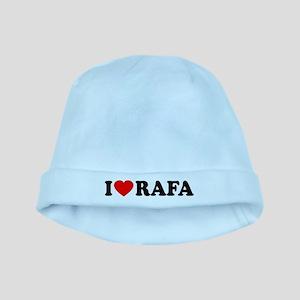 I (Heart) Rafa baby hat