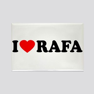 I (Heart) Rafa Rectangle Magnet