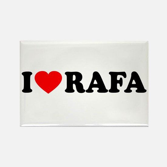 I (Heart) Rafa Rectangle Magnet