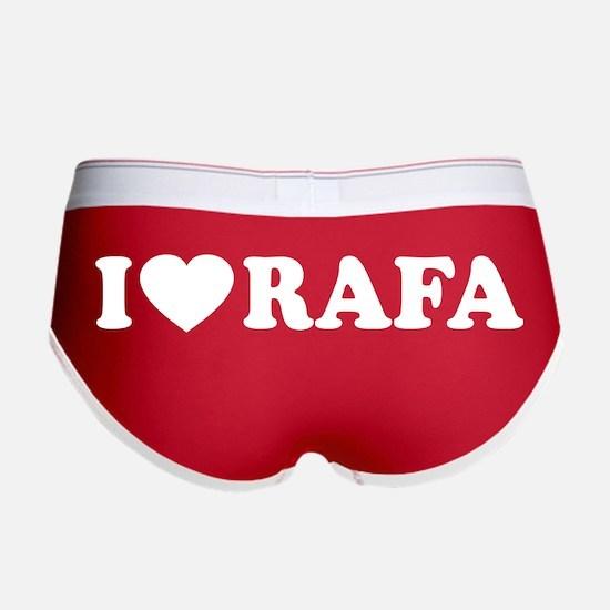 I (Heart) Rafa Women's Boy Brief