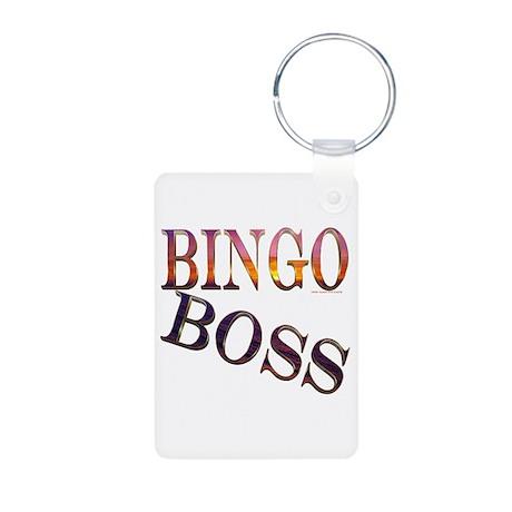 Bingo Boss Engrave MT Aluminum Photo Keychain