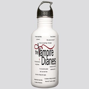 Vampire Diaries Quotes Stainless Water Bottle 1.0L