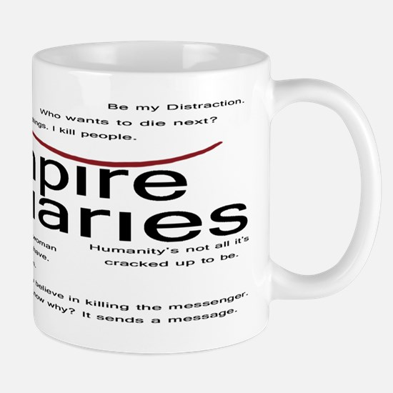 Vampire Diaries Quotes Mug