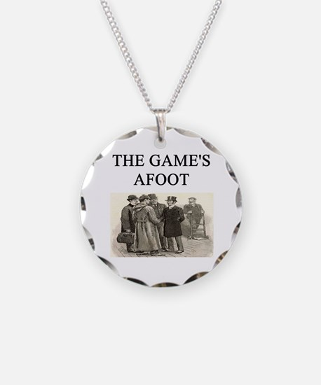 sherlok holmes gifts t-shirts Necklace