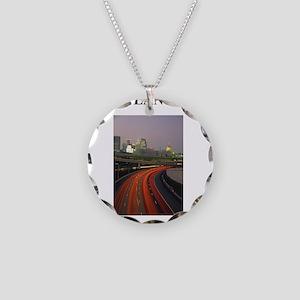 ATLANTA Necklace Circle Charm