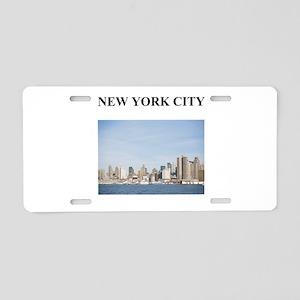 NEW YORK CITY 1 Aluminum License Plate