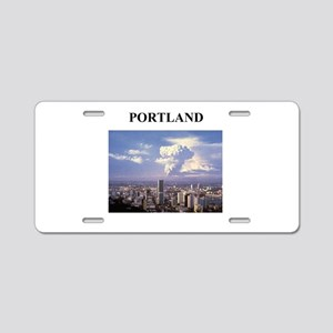 portland gifts and t-shirts Aluminum License Plate