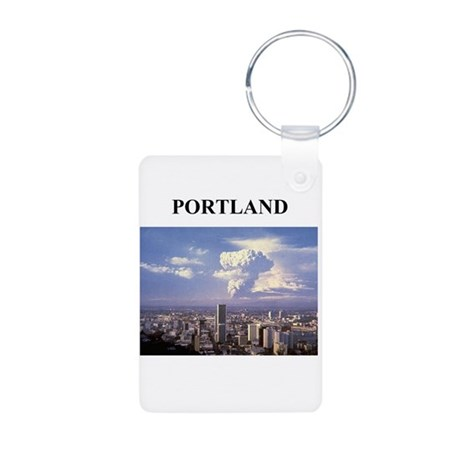 portland gifts and t-shirts Aluminum Photo Keychai