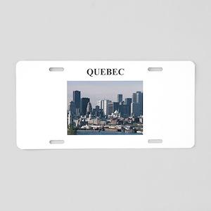 QUEBEC Aluminum License Plate
