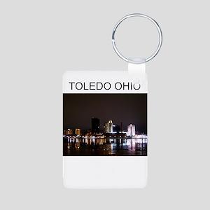 toledo Aluminum Photo Keychain