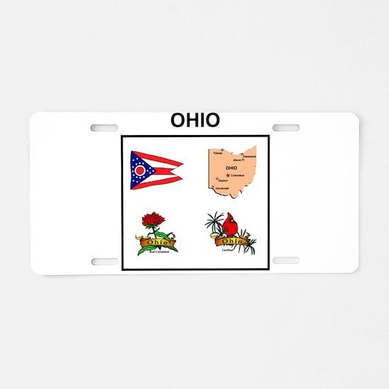 stae of ohio design Aluminum License Plate