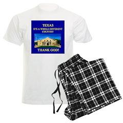 i love texas texans Pajamas