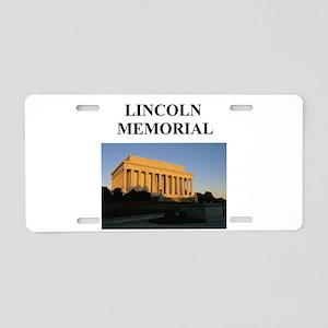 lincoln memorial washington g Aluminum License Pla