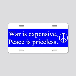 gail's peace gifts Aluminum License Plate