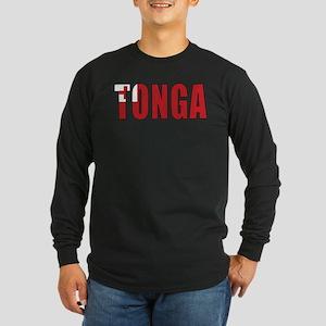Tonga Long Sleeve Dark T-Shirt
