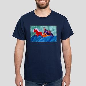 Jack & Red Horse Dark T-Shirt