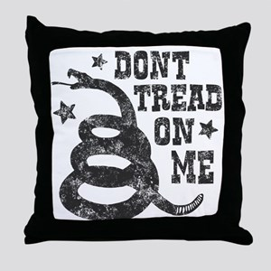 Don't Tread Throw Pillow