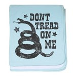 Don't Tread baby blanket