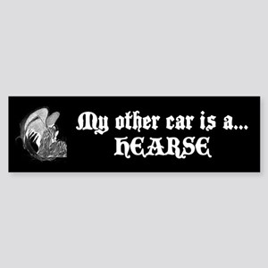 My other car is a hearse Sticker (Bumper)