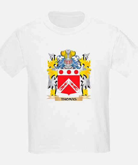 Thomas- Family Crest - Coat of Arms T-Shirt