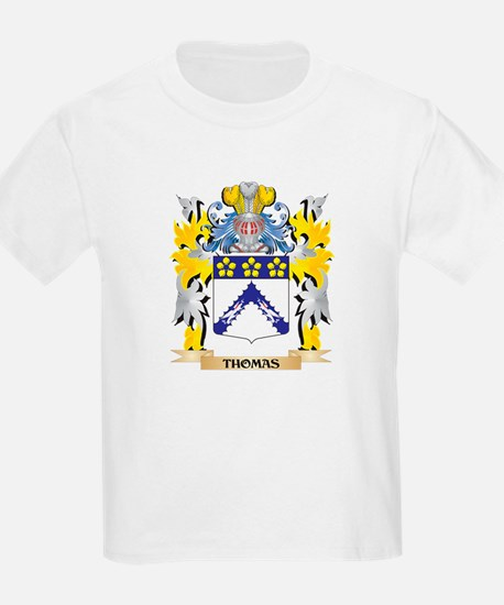 Thomas Family Crest - Coat of Arms T-Shirt