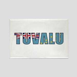 Tuvalu Rectangle Magnet