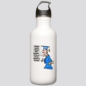 Funny Graduation Stainless Water Bottle 1.0L