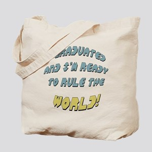 Funny Graduation Tote Bag