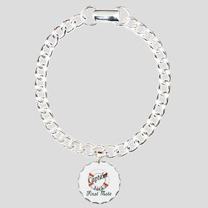 Captain Jack Charm Bracelet, One Charm