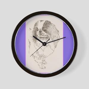 Japanese Chin Wall Clock