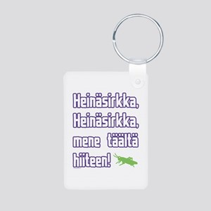 Heinasirkka Aluminum Photo Keychain