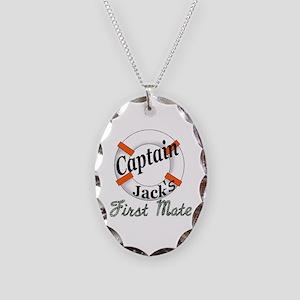 Captain Jack Necklace Oval Charm