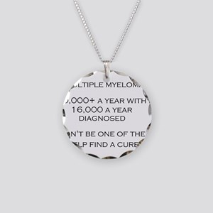 MM Find a Cure! Necklace Circle Charm