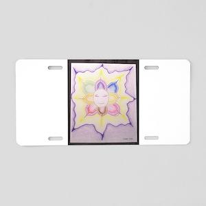 The Inner Light Aluminum License Plate