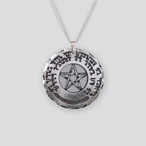 healing spell pendant Necklace Circle Charm