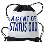 agent of status quo Drawstring Bag