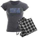 agent of status quo Women's Charcoal Pajamas