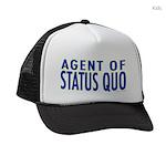agent of status quo Kids Trucker Hat
