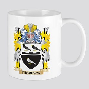 Thompson Family Crest - Coat of Arms Mugs