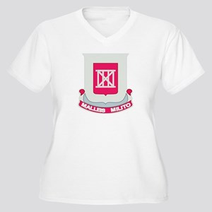 DUI - 62nd Engineer Bn Women's Plus Size V-Neck T-
