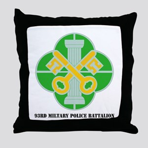 DUI - 93rd Military Police Bn with Text Throw Pill